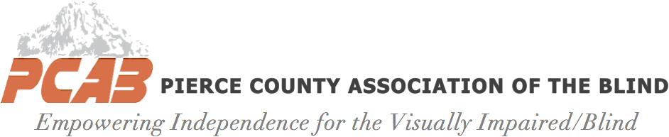 Pierce County Association for the Blind website
